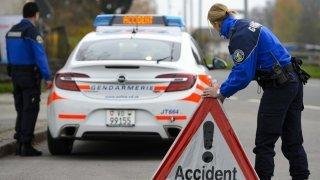 Accident de la circulation: un adolescent perd la vie en moto près de Sainte-Croix