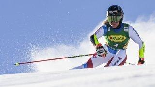 Ski alpin: Lara Gut-Behrami termine à la 2e place du géant de Sölden, remporté par Mikaela Shiffrin