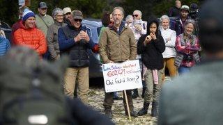 Marchairuz: les défenseurs du loup ont manifesté