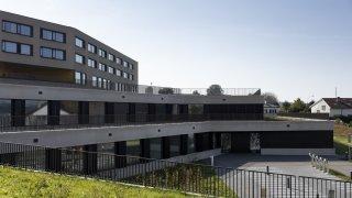 Le Gymnase de la Broye inaugure son extension bâtie en terrasses
