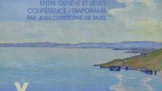 """Hodler et le Léman  """"Le peintre face au lac"""""""