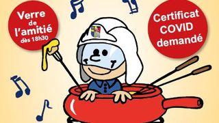 Soirée fondue : amicale des pompiers d'Eysins