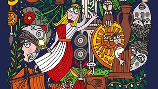 Vacances à la romaine - La mosaïque c'est chic!