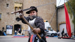 Epic'festival de Morges: quand les femmes se battent à l'épée