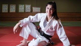 Priscilla Morand poursuit son aventure sur les tatamis