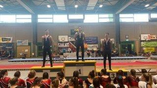 Les gymnastes de La Côte s'illustrent au Championnat romand