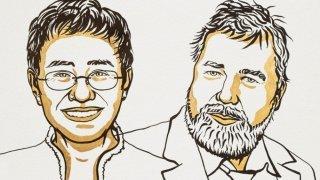 Le Prix Nobel de la Paix 2021 a été décerné aux journalistes Maria Ressa et Dmitry Muratov