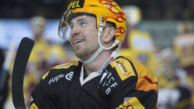 Le top-scorer fribourgeois Andrey Bykov.