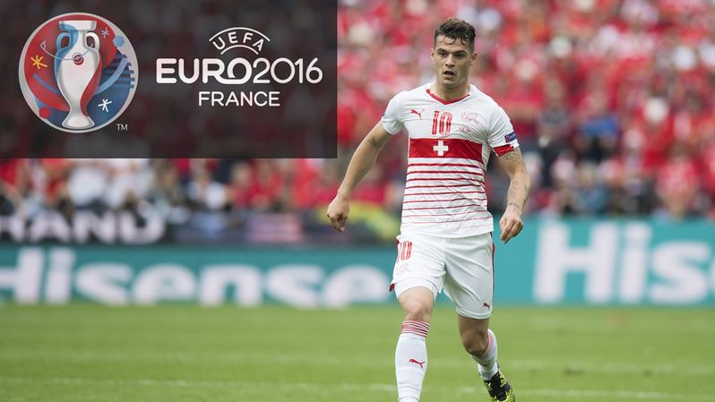 Euro 2016: Granit Xhaka remercie Sommer pour ses prouesses