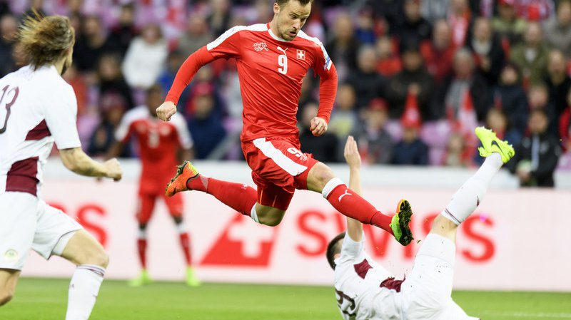 Football: l'attaquant international Haris Seferovic quitte Francfort pour Benfica