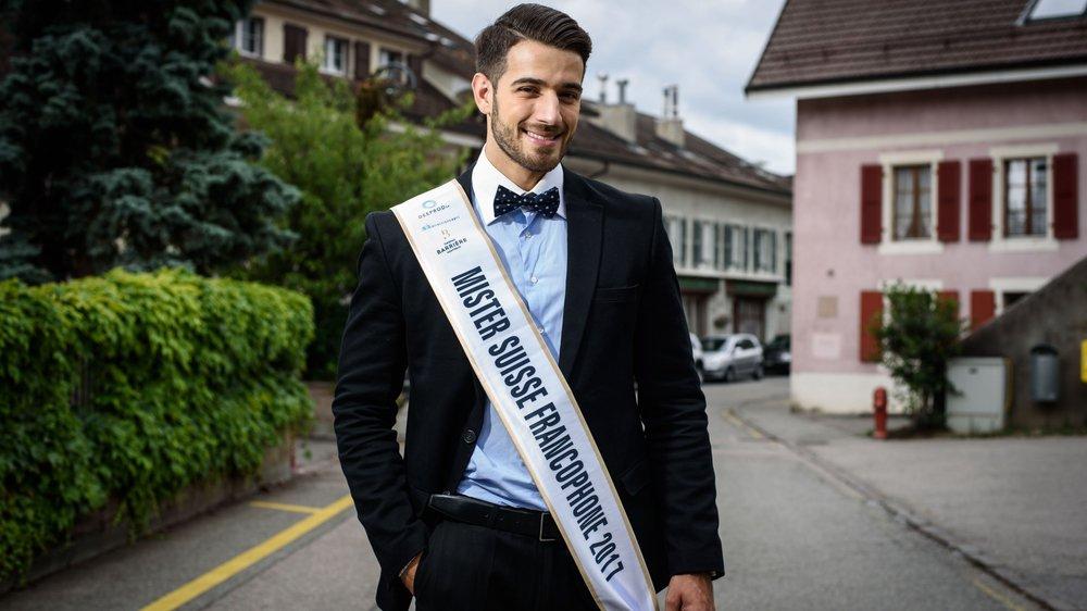 Pour s'octroyer le titre de Mister Suisse francophone, Alessio Costantini a consenti de gros sacrifices.