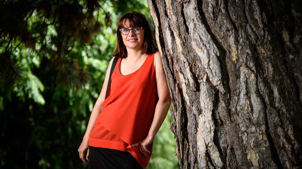 Sylvie Podio est la nouvelle présidente du Grand Conseil.