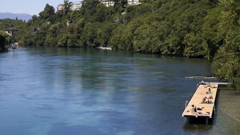 Genève organise des journées de prévention pour les baignades dans le Rhône