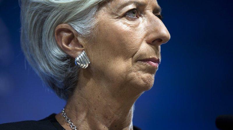 La directrice générale du FMI, Christine Lagarde, se félicite du nouveau programme d'ajustement économique de la Grèce.