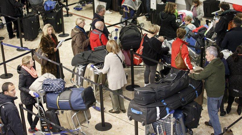 Aéroport de Genève: le système de tri des bagages est réparé