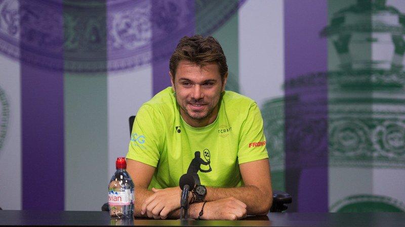 """Stan Wawrinka se """"sent bien et capable de réaliser quelque chose"""" à Wimbledon."""
