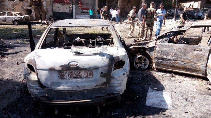 Syrie: un attentat suicide fait au moins 18 morts et une quinzaine de blessés à Damas