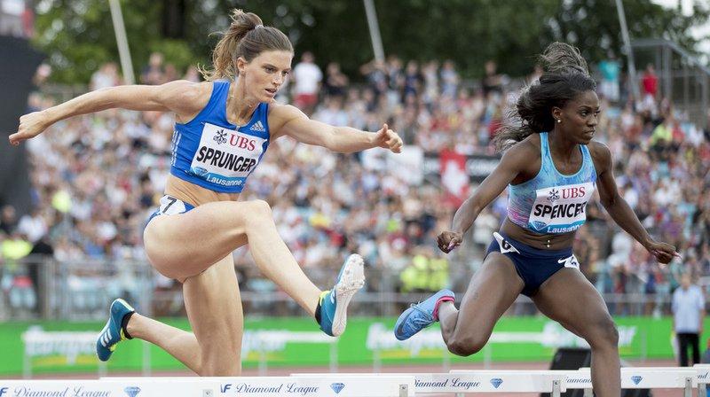 Athletissima: La Vaudoise Lea Sprunger brille face au gratin mondial