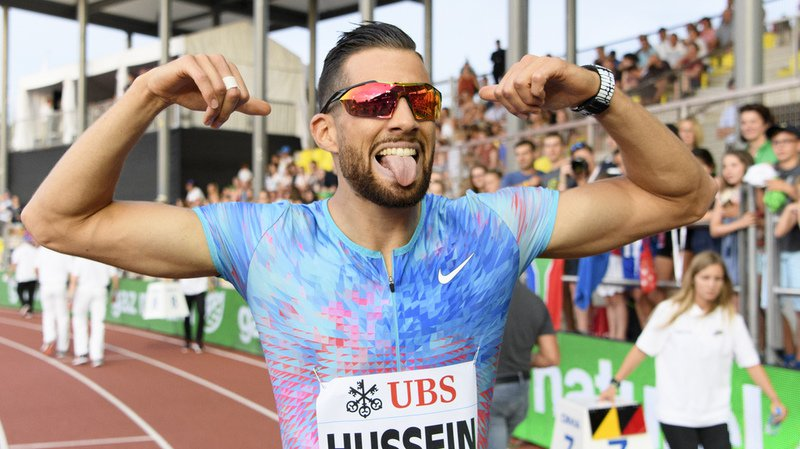Athletissima: le Suisse Kariem Hussein domine le 400 m haies