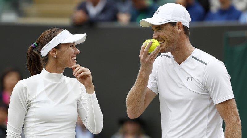 Wimbledon: Martina Hingis et Jamie Murray en finale du double mixte