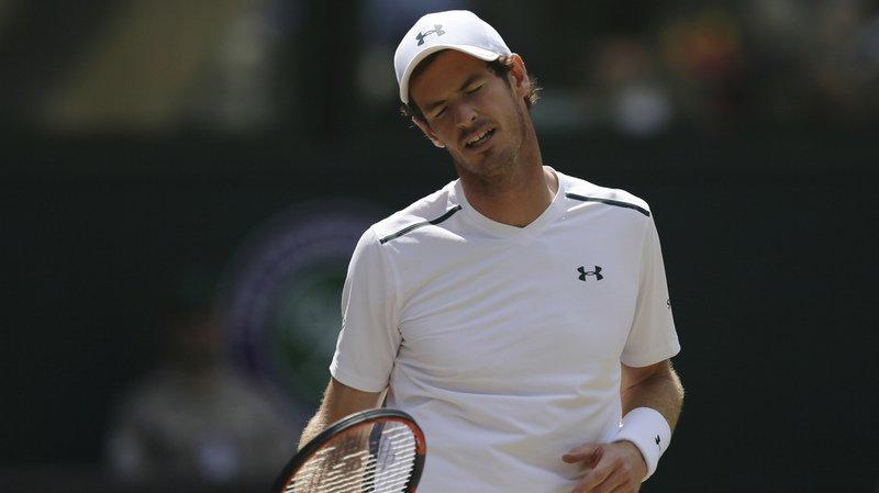Wimbledon: le tenant du titre Andy Murray est éliminé en quart de finale