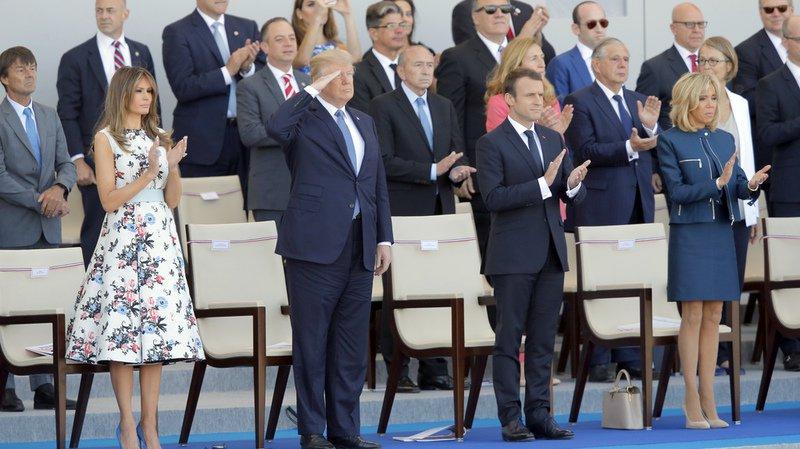 France: des avions et 200 militaires américains défilent à Paris pour le 14 juillet