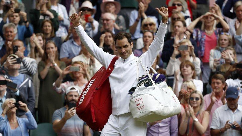 """Federer à Wimbeldon: """"Je suis si heureux d'avoir fait cette longue pause"""""""