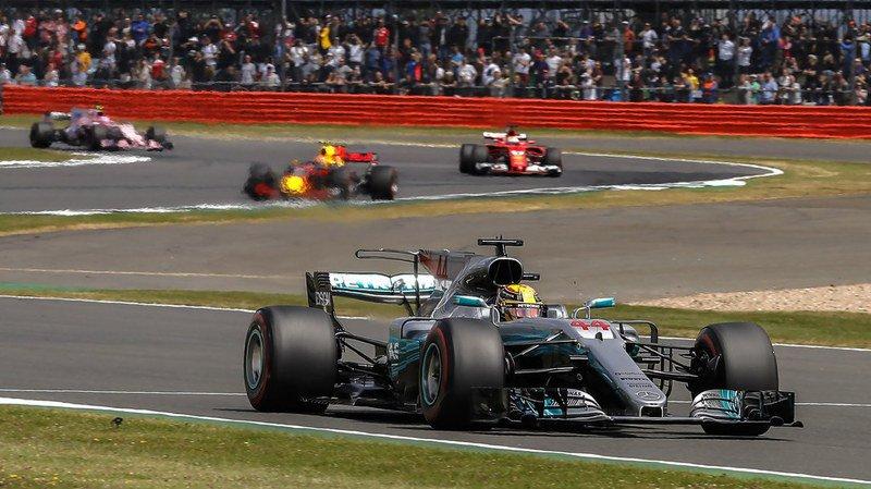 Lewis Hamilton a fait cavalier seul lors de cette course.
