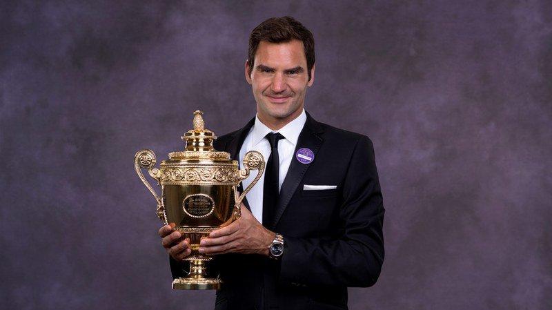 Roger Federer a remporté son 8e titre de Wimbledon.