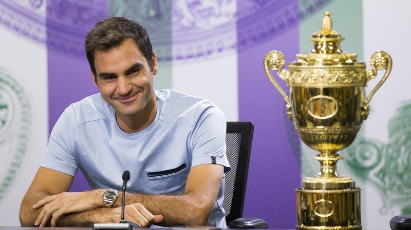 Wimbledon: Roger Federer s'est couché à 5 heures du matin, après une soirée bien arrosée