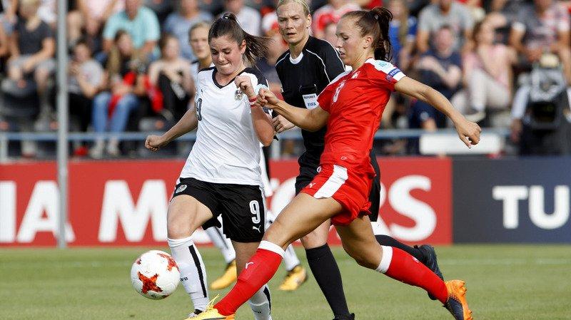 Euro féminin 2017: les Suissesses s'inclinent 1-0 face à l'Autriche