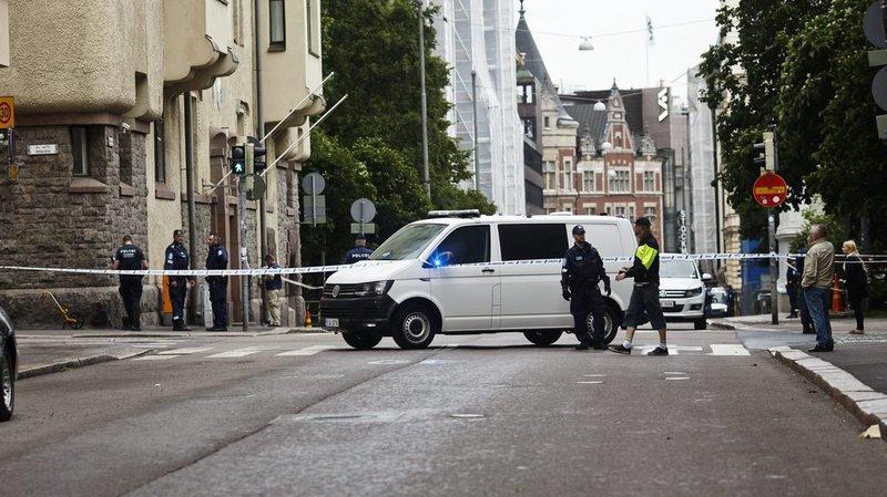 Finlande: une voiture fonce dans la foule et fait un mort et plusieurs blessés à Helsinki