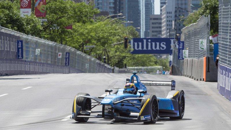 Formule E: le pilote suisse Sébastien Buemi perd la tête du championnat