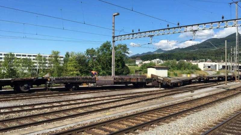Olten (SO): mauvaise manœuvre, cinq wagons déraillent