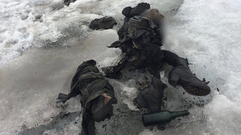 Les corps momifiés ont été découverts jeudi soir.