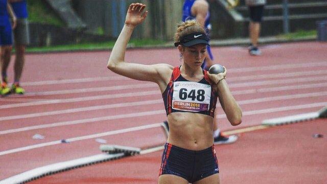 Mathilde Rey a décroché les minima pour les championnats d'Europe M20.