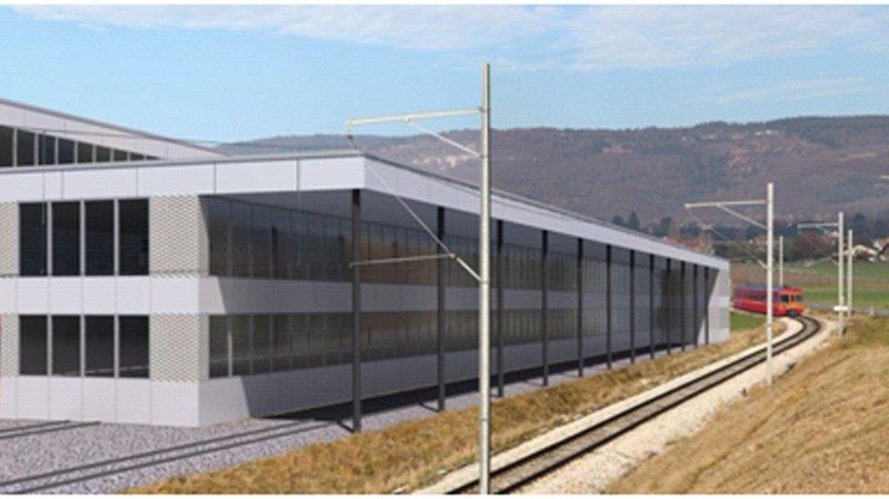 Nouveau atelier-dépôt des NStCM à Trélex approuvé