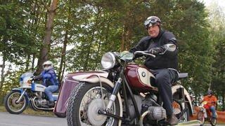 Bière a célébré les motos anciennes