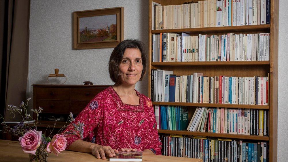 Sophie Parlatano Erbrich se forme depuis deux ans à l'écoute thérapeutique centrée sur la personne.