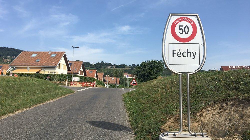 Une signalétique à l'image du village
