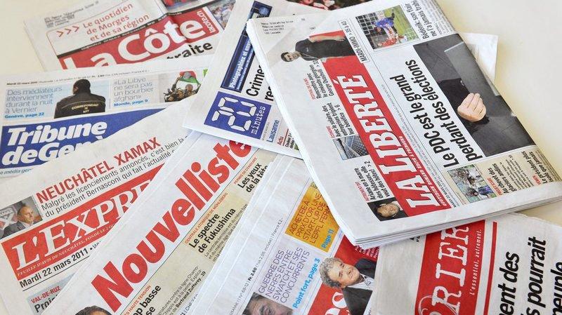 Pour le syndicat Impressum, la diversité des médias est en danger.