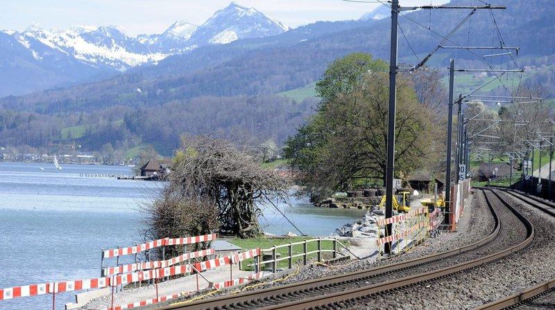 CFF: le trafic ferroviaire a été temporairement perturbé entre Zurich et Coire suite à un déraillement