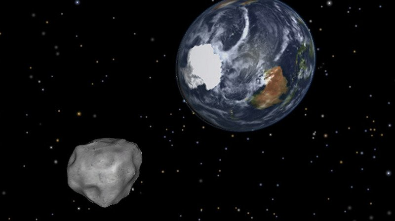 "Astronomie: l'astéroïde ""Florence"" va frôler la Terre vendredi"