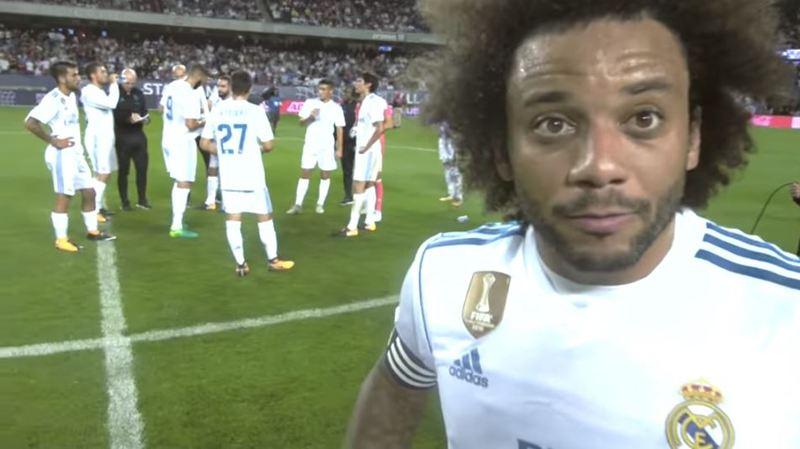 Un arbitre a porté une caméra frontale pendant un match du Real Madrid, le résultat est surprenant