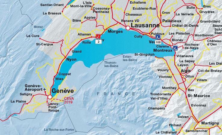 CFF: ligne ferroviaire interrompue entre Genève et Lausanne