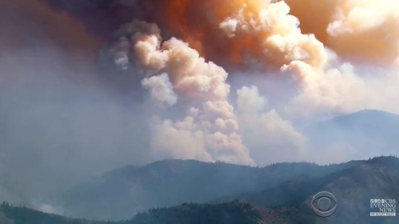 Etats-Unis: de violents incendies ravagent l'ouest du pays, des milliers d'évacués