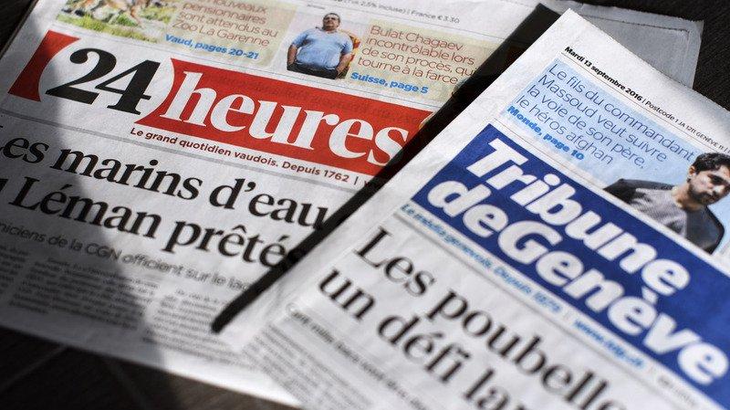 Presse: après Le Matin et 20 Minutes, Tamedia regroupe les rubriques Suisse/monde de ses autres titres