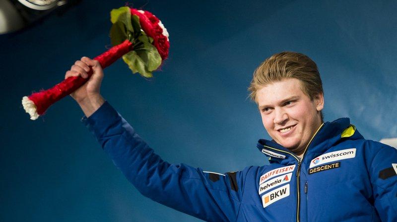 Niels Hintermann avait créé une grosse surprise en remportant le combiné du Lauberhorn en janvier dernier.