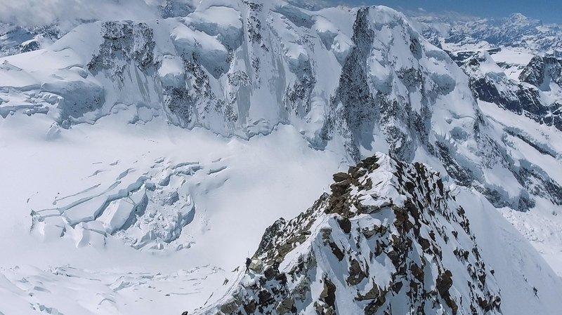 Italie: trois corps découverts sur un glacier du Mont-Blanc