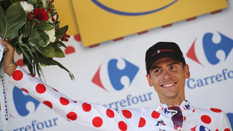 Cyclisme: le Français Warren Barguil, meilleur grimpeur du Tour de France, viré de la Vuelta par son équipe